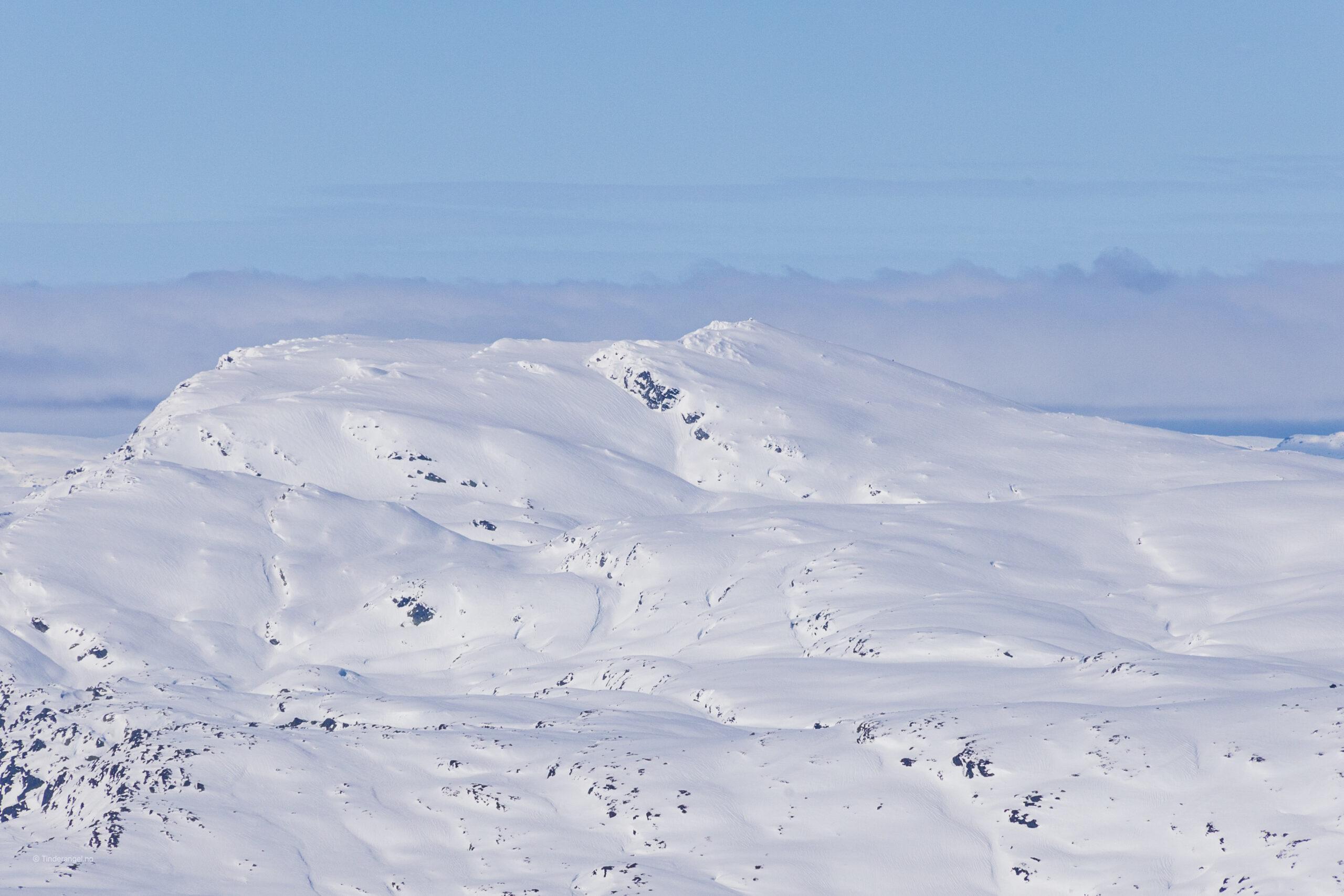 Kvitanosi (1.432 moh) er et populært skiturmål på Voss og i Stølsheimen.