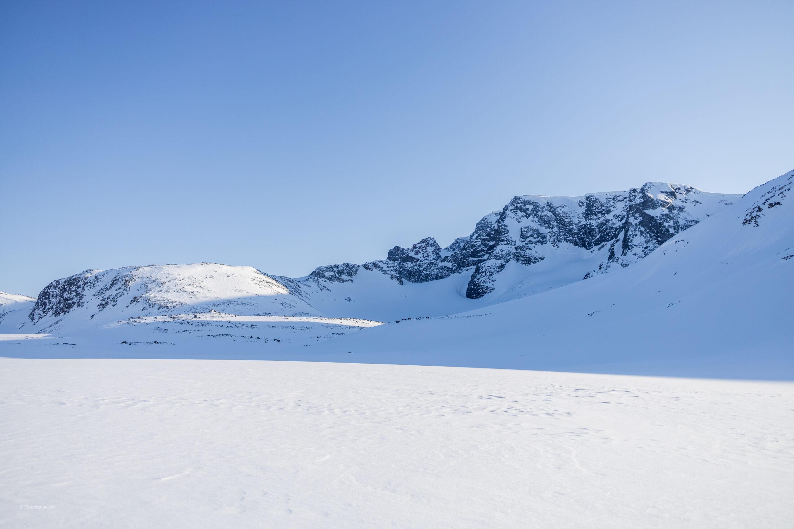 Leirhøe sett fra Skautflye.