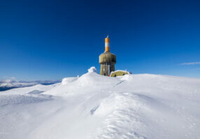 Toppen av Lønahorgi 1.410 moh.