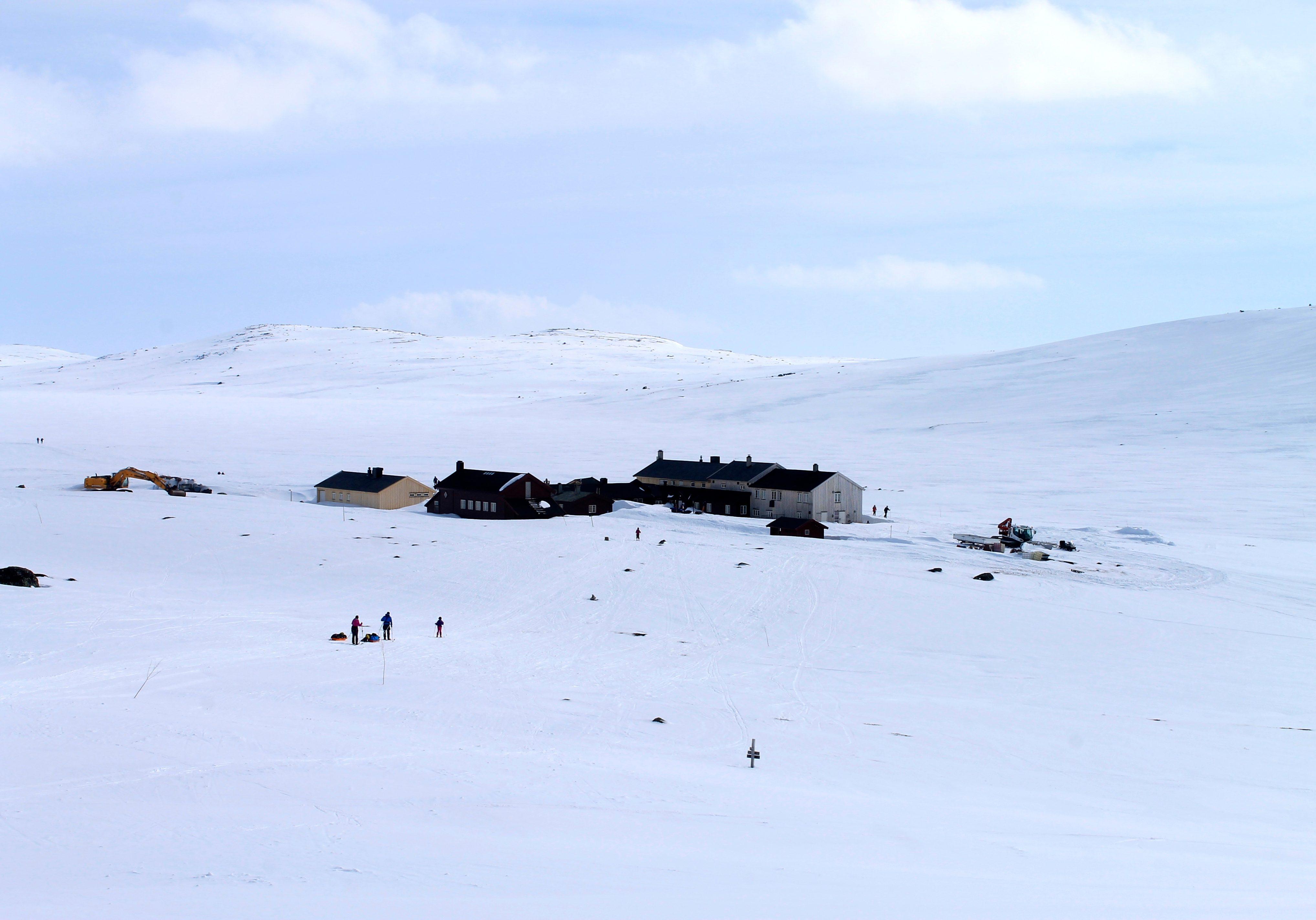 Krækkja har blitt betydelig større siden den åpnet som den første av Den Norske Turistforening´s hytter på Hardangervidda i 1878.