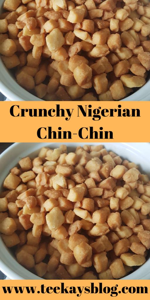 Nigerian chin chin
