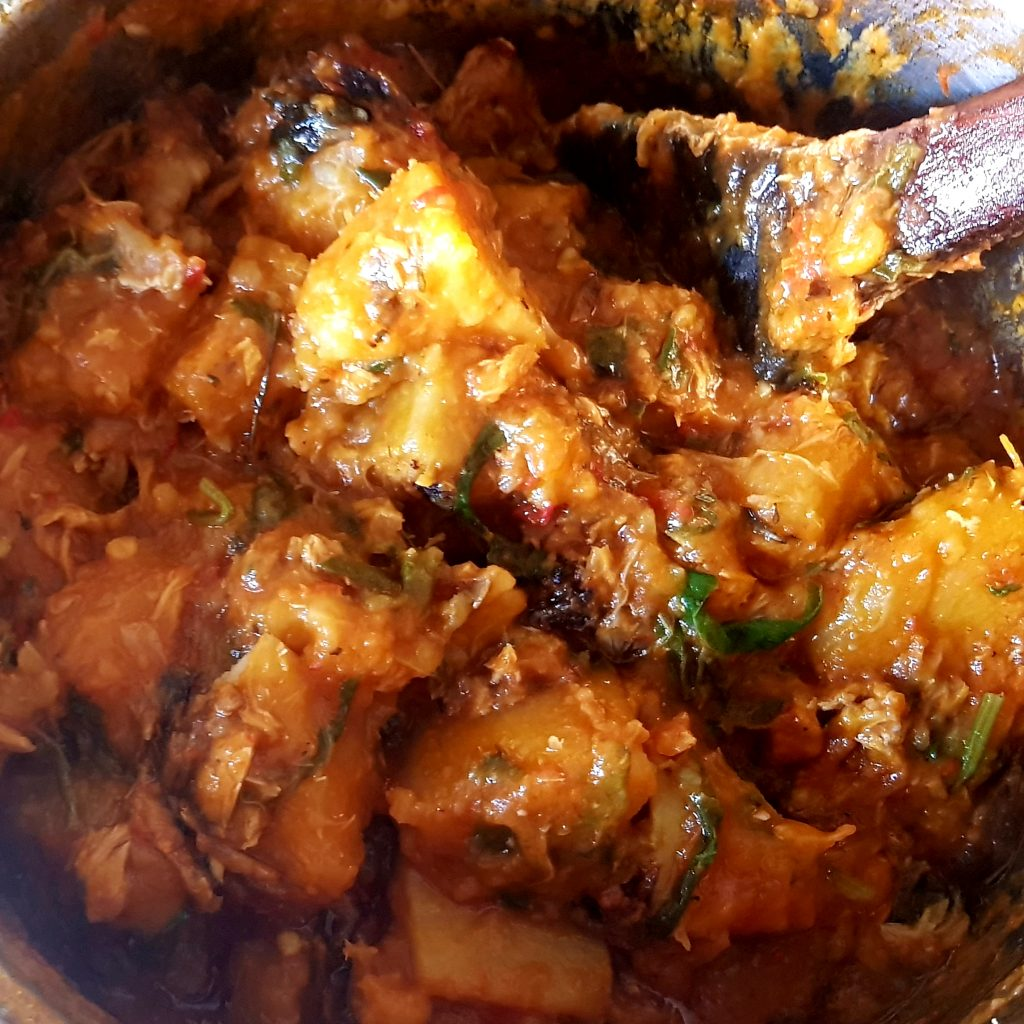 Yam porridge/pottage