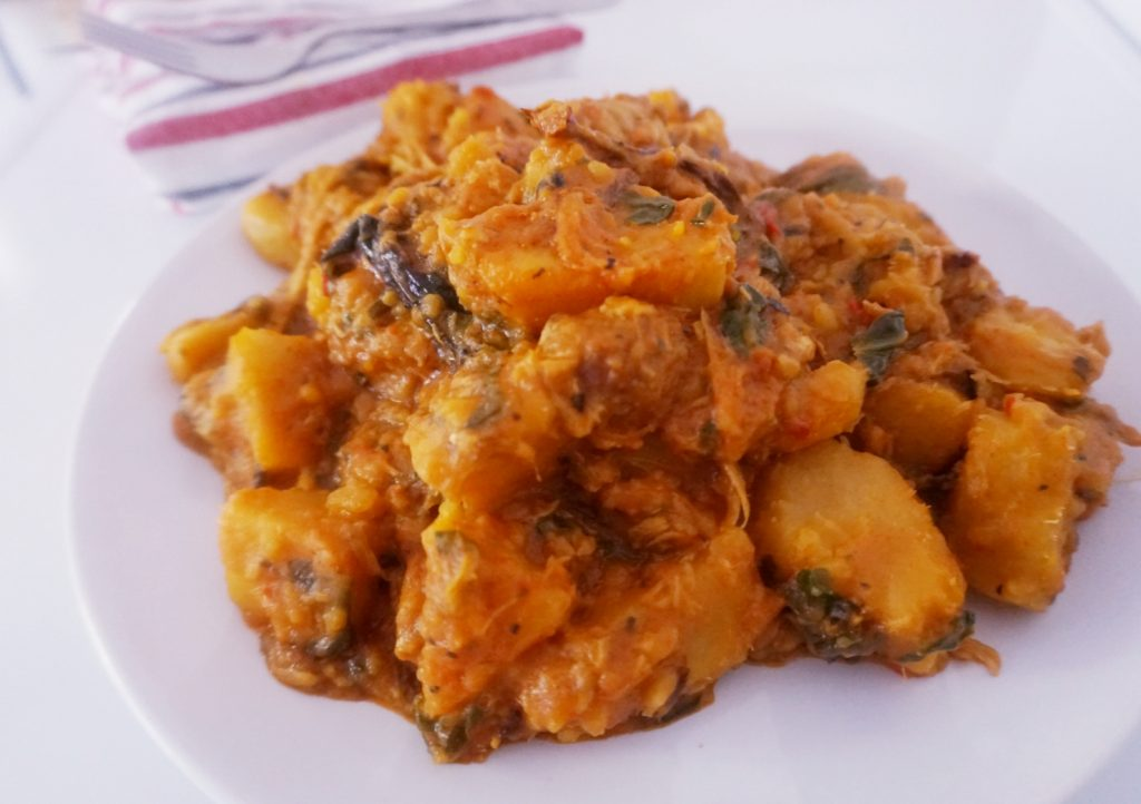 Yam porridge/pottage