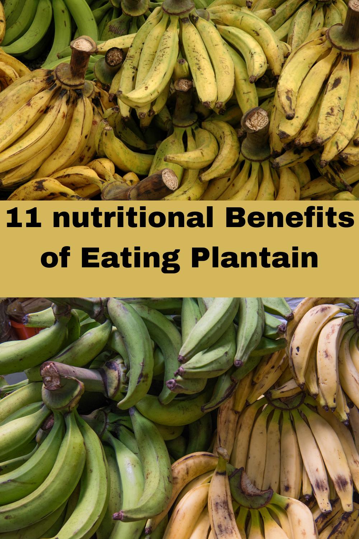 benefits of plantain