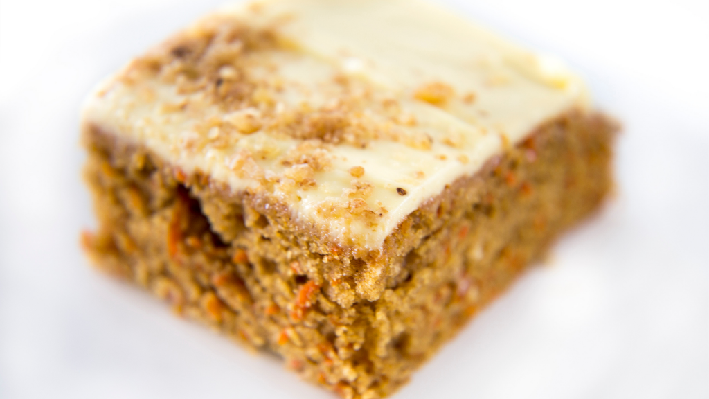 healthy carrots cake recipe