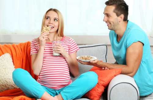 Snacks for pregnant women