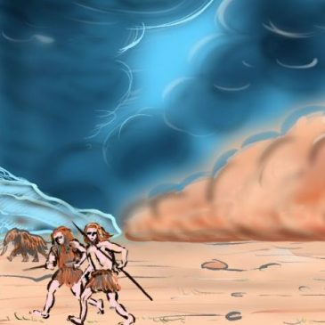 Unmatched dust storms raged over Western Europe during Iceage maximum