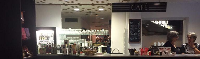 Omorganisering af betjening af billet- og cafésalg