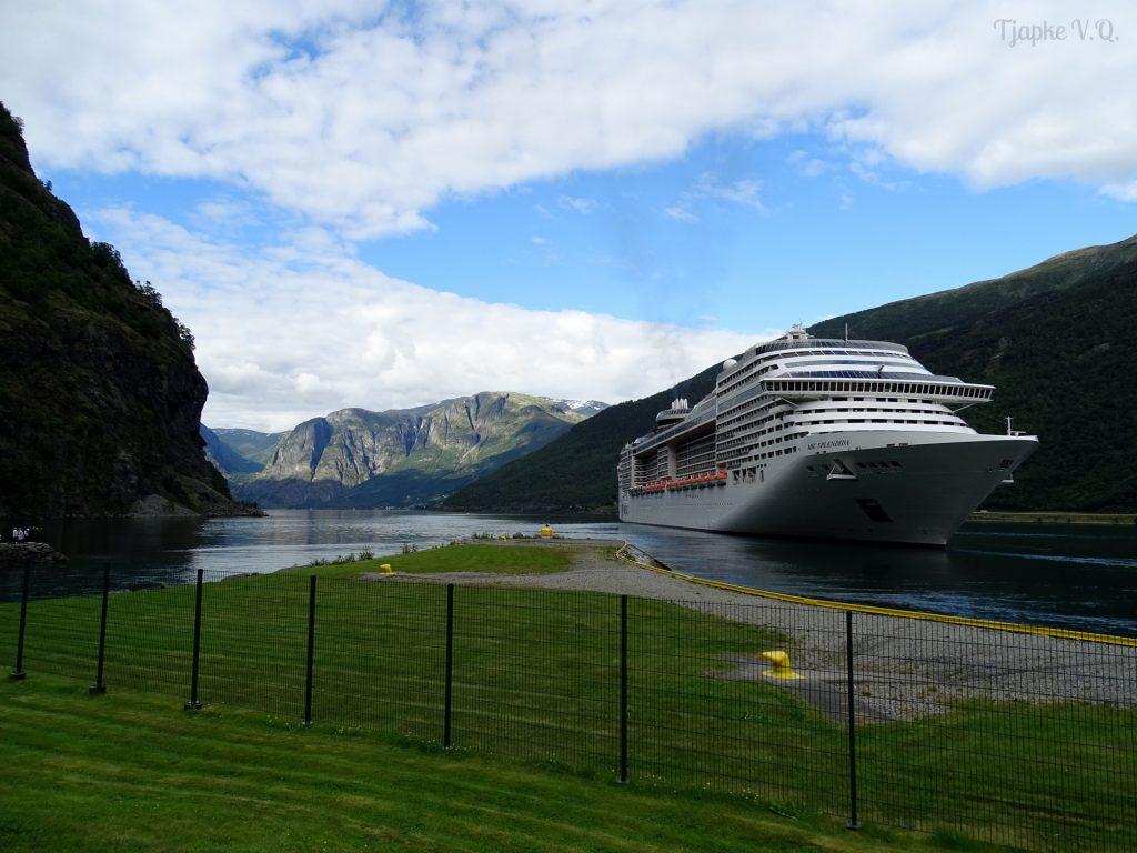 cruiseschip Flåm