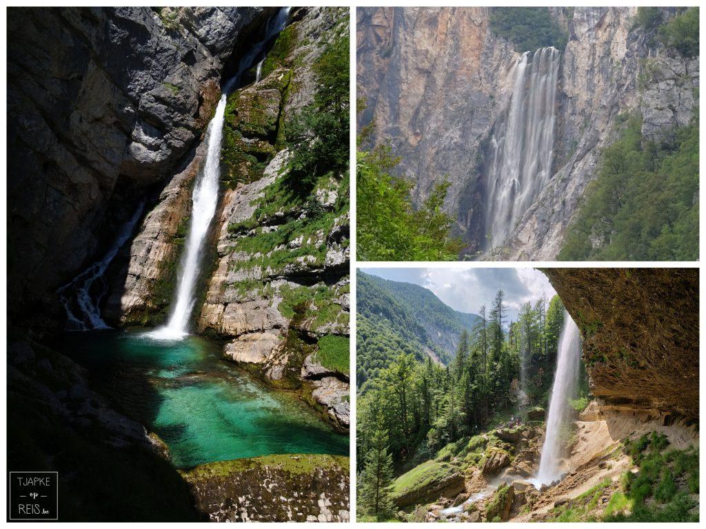 Watervallen in Slovenië