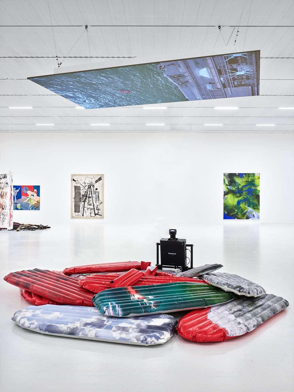 Medusa : floating body #3, exhibition view at K21, 2020, photo: Katja Illner