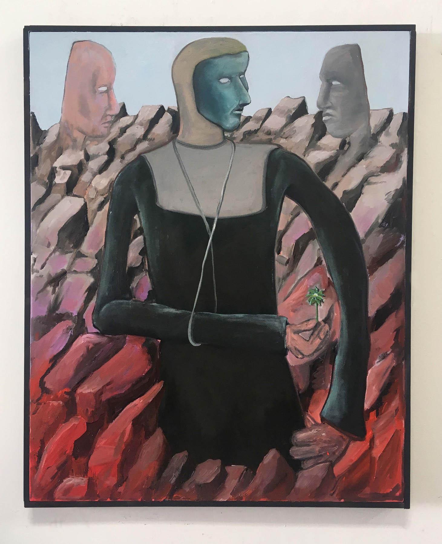 Tom Poelmans - Madonna of the rocks