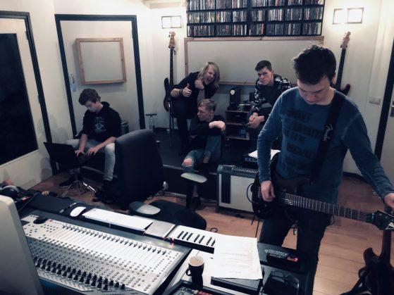 Stressed at Toneshed Recording Studio