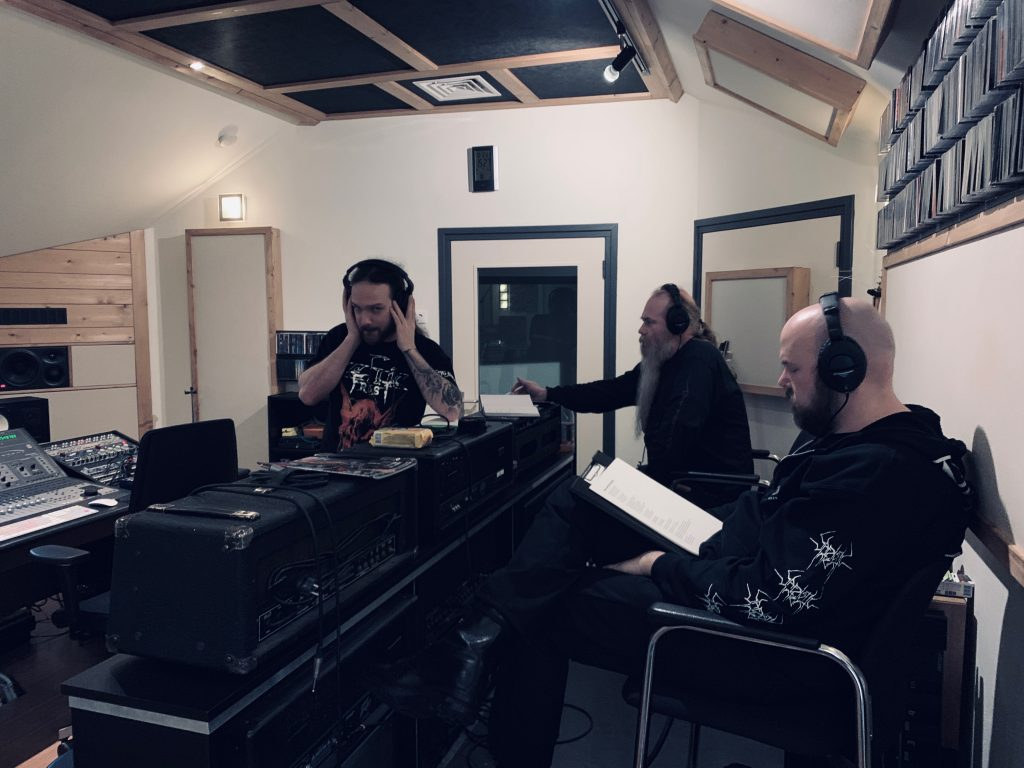 Pentacle at Toneshed Recording Studio