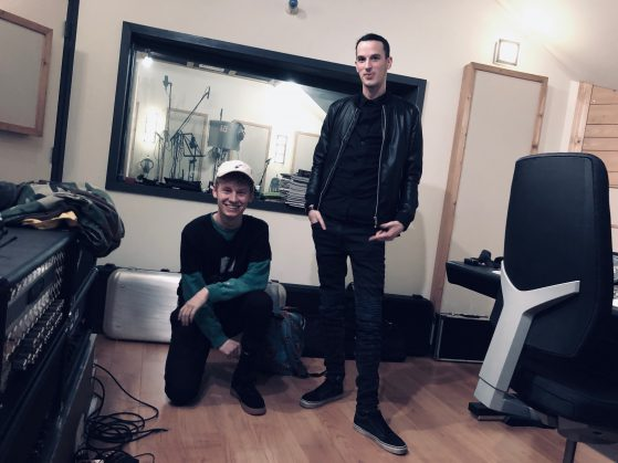 Chris Locked and Raw Genetic at Toneshed Recording Studio