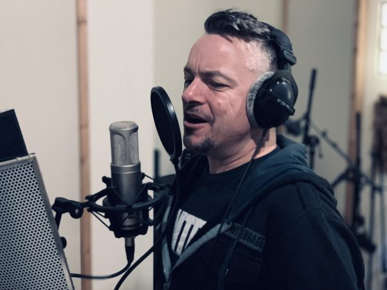 Bob Paulus at Toneshed Recording Studio