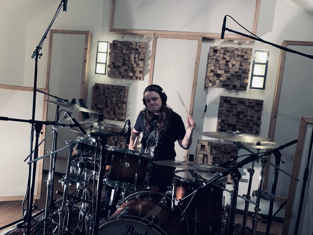 Fons van Dijk - Sisters of Suffocation at Toneshed Recording Studio