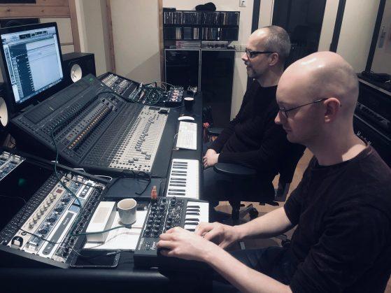 Armed Cloud at Toneshed Recording Studio