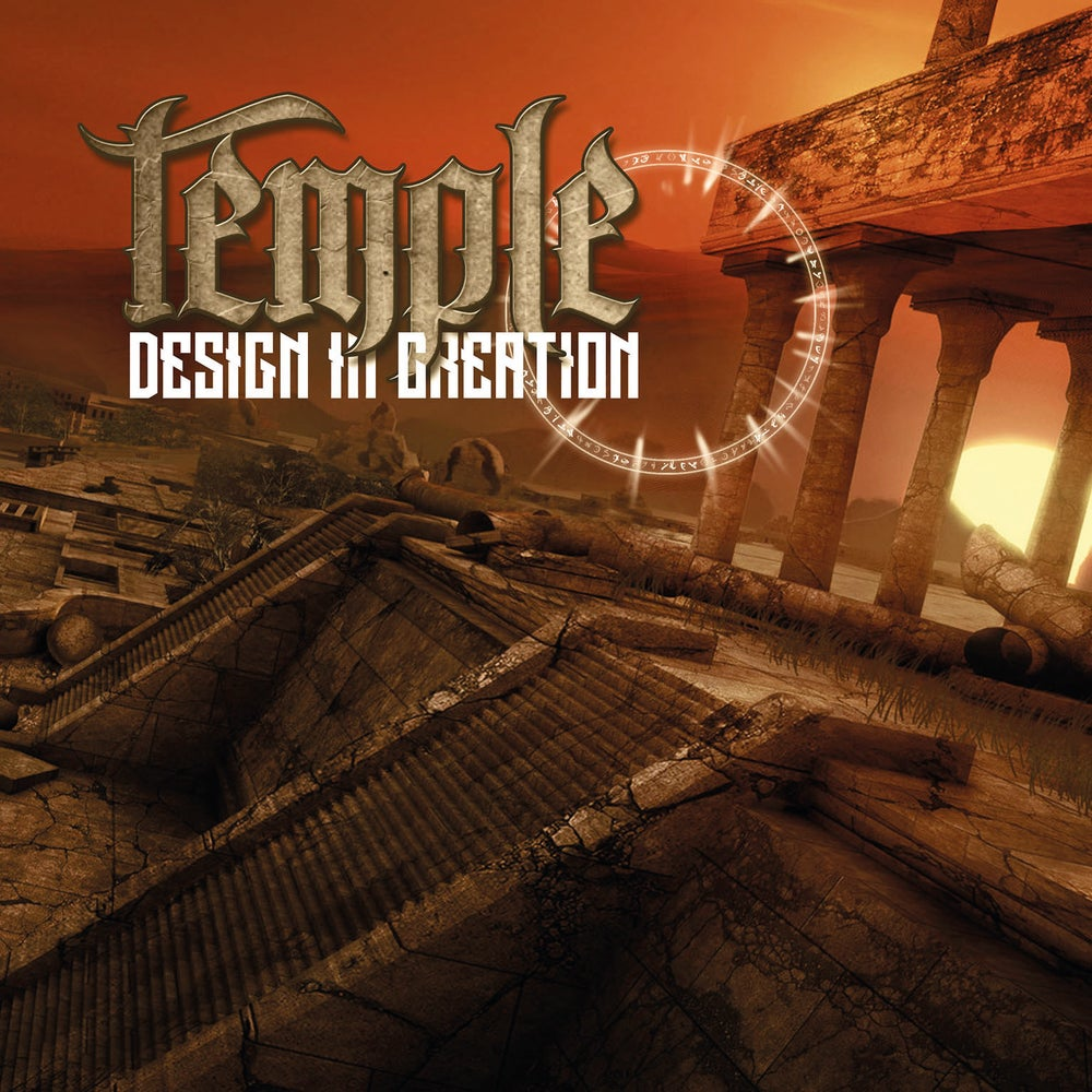 Design In Creation by Temple - Album Art