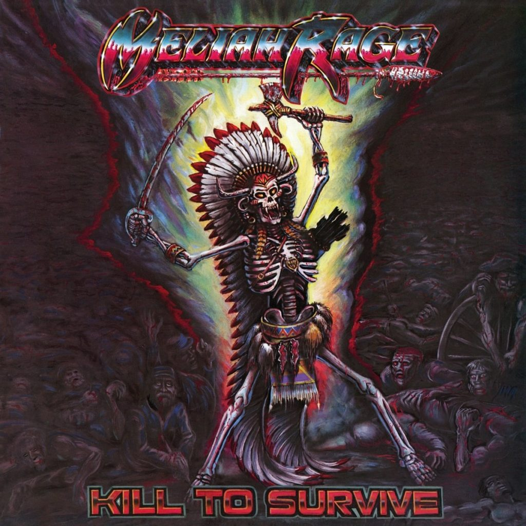 Kill to Survive by Meliah Rage - Album Art