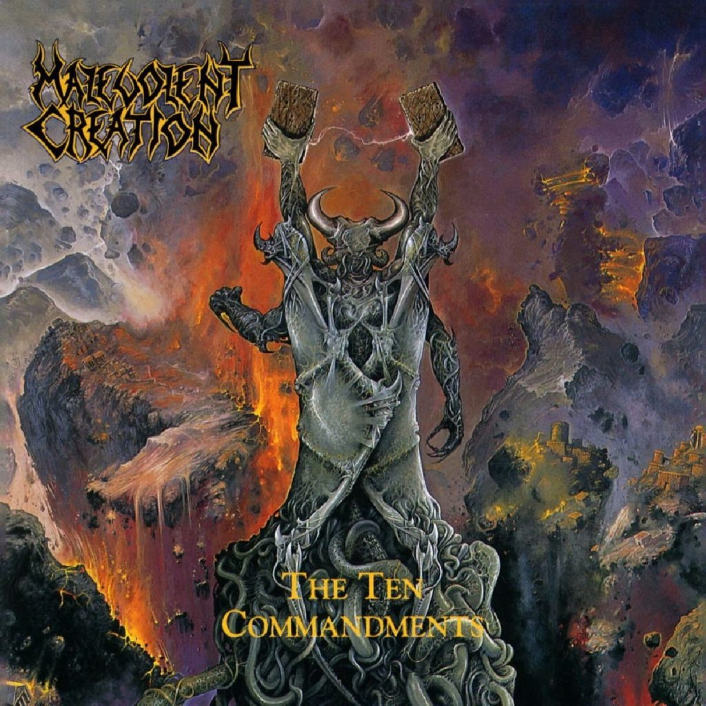 The Ten Commandments by Malevolent Creation - Album Art
