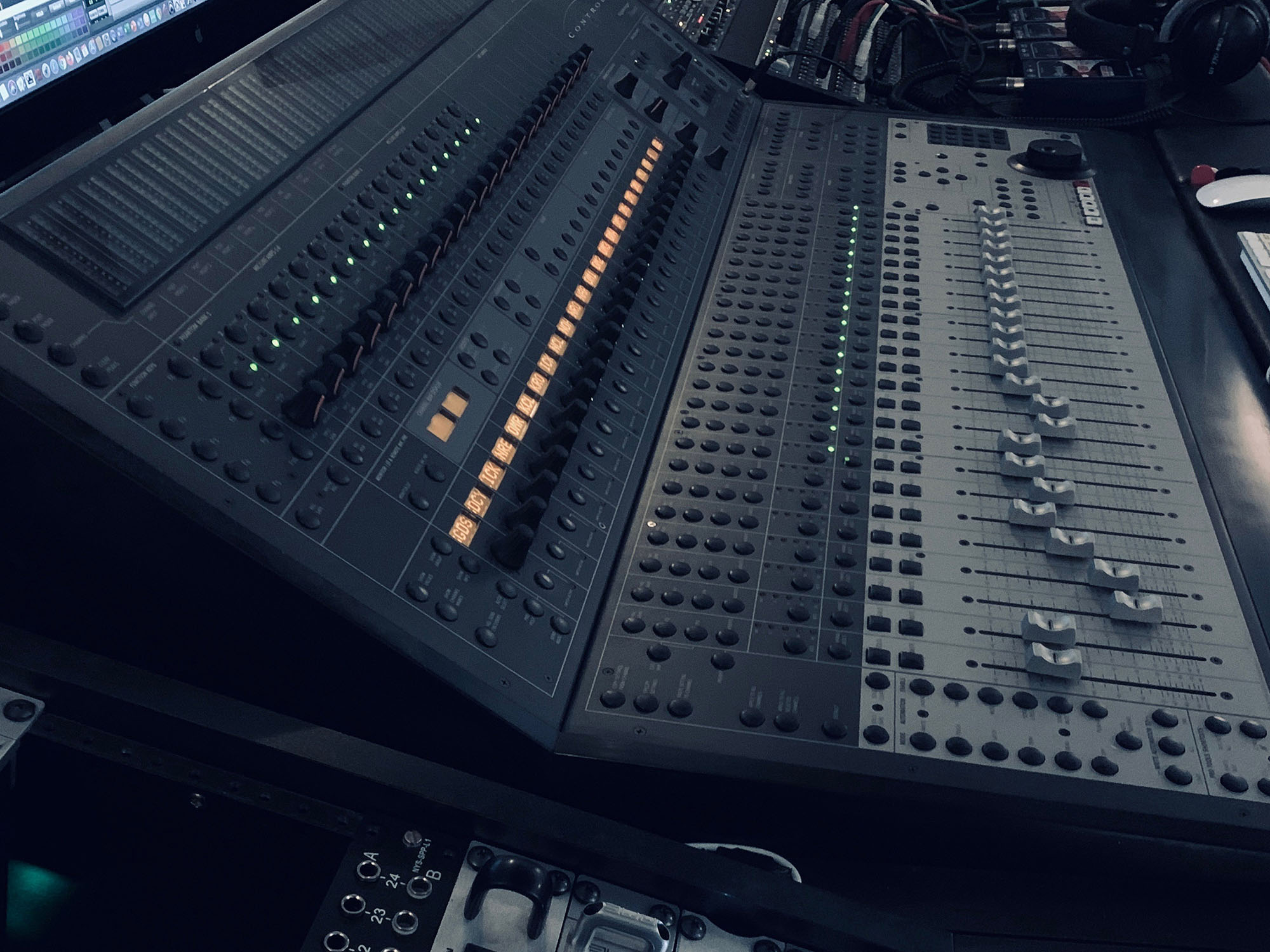 Digidesign Control | 24 mixing desk DAW controller at Toneshed Recording Studio