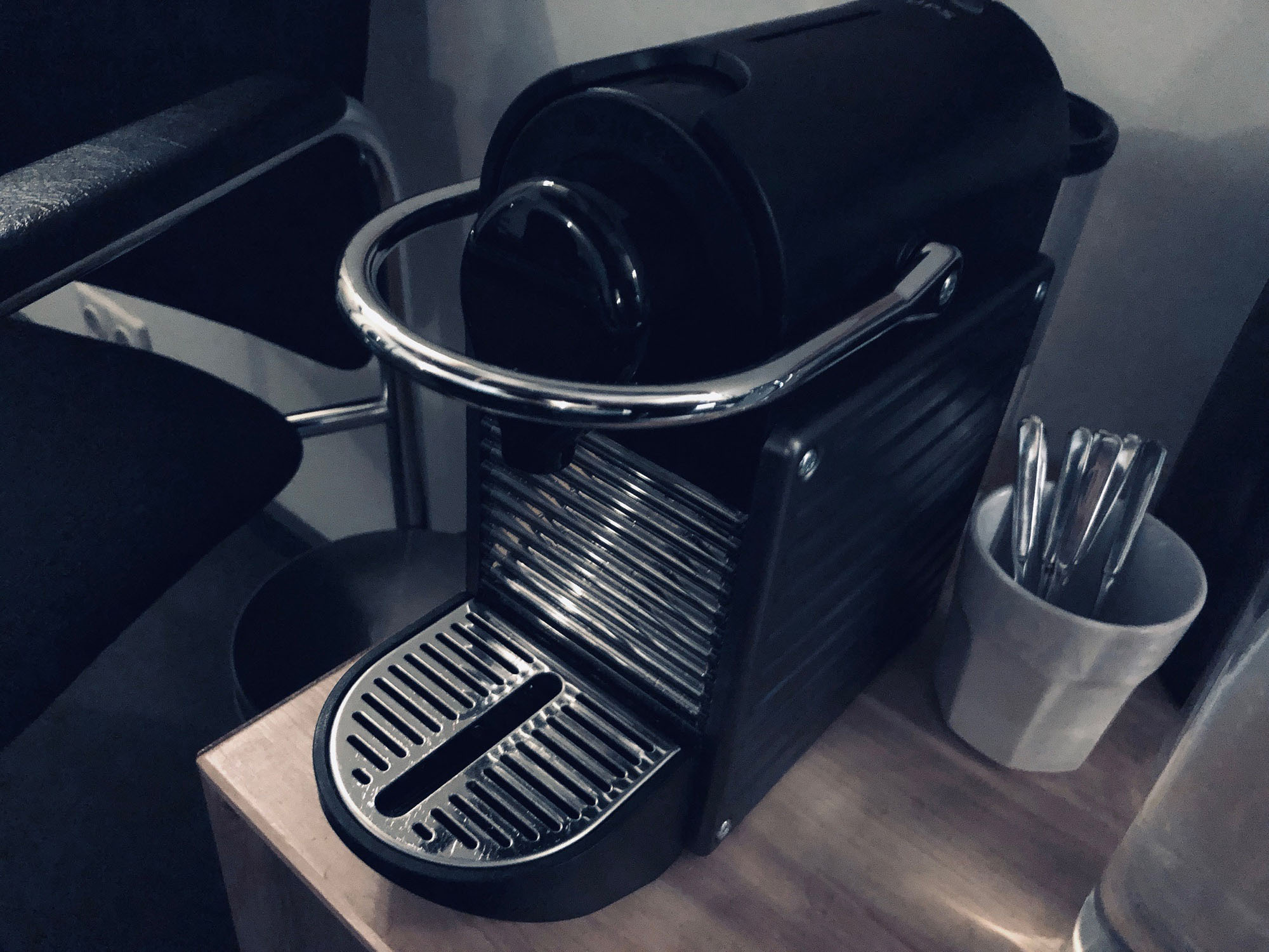 Nespresso machine and free coffee at Toneshed Recording Studio
