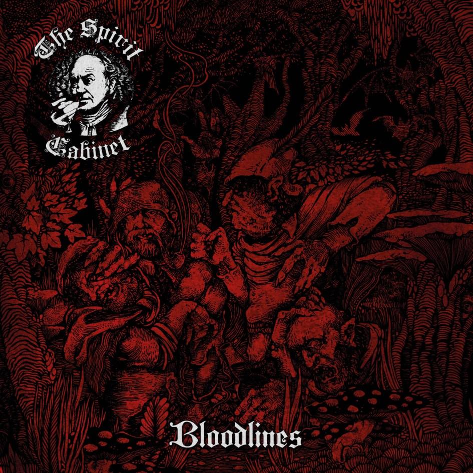 Bloodlines by The Spirit Cabinet - Album Art