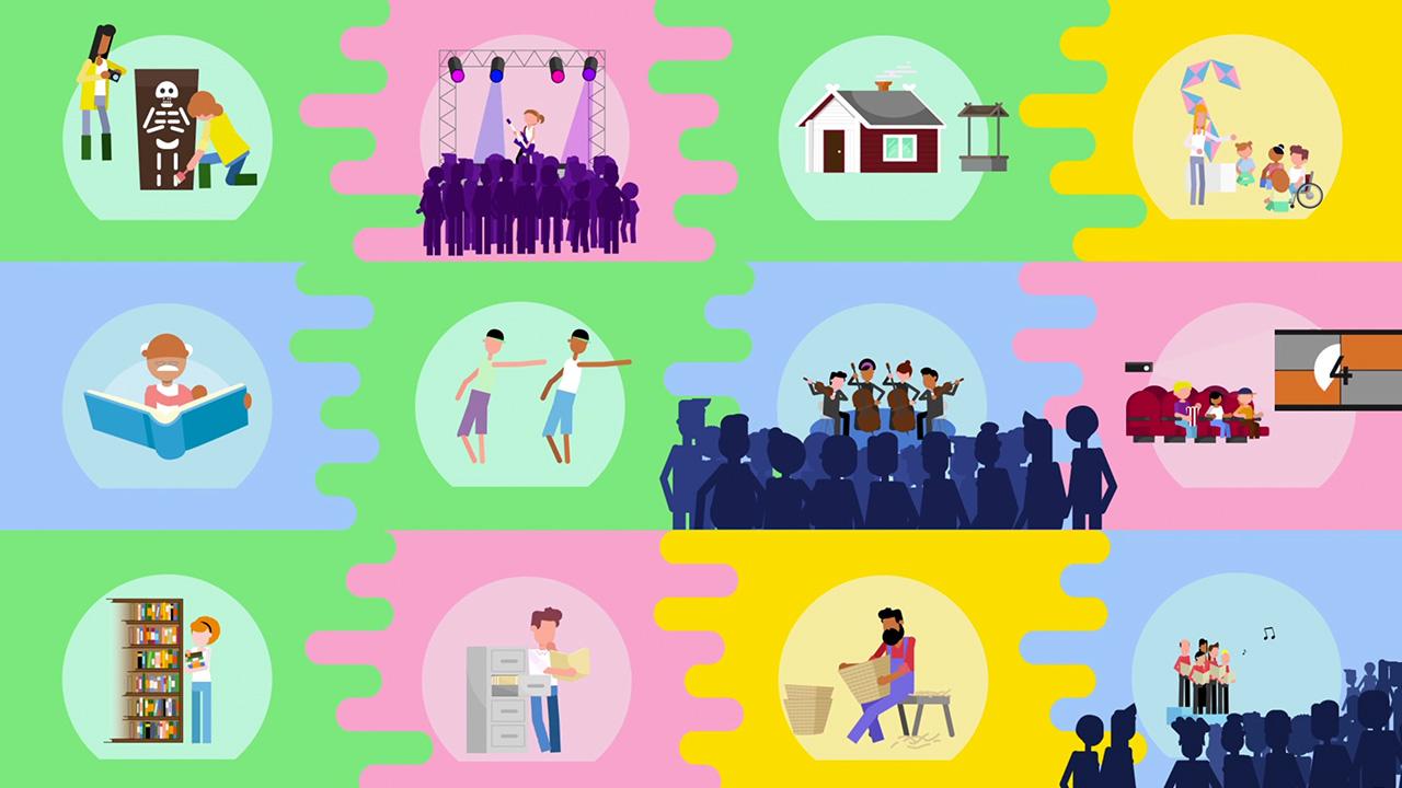 Kulturradet 6 Animation Informationsgrafik Produktionsbolag Stockholm
