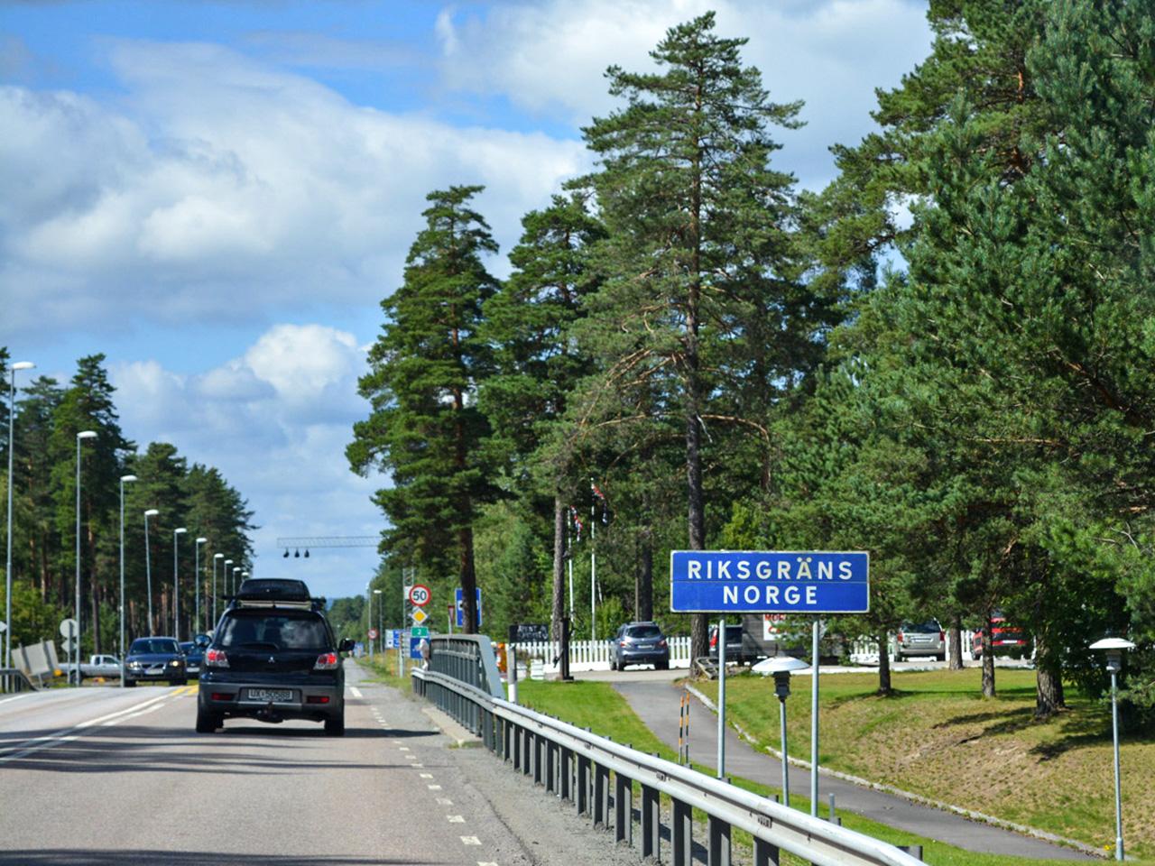 norska gränsen