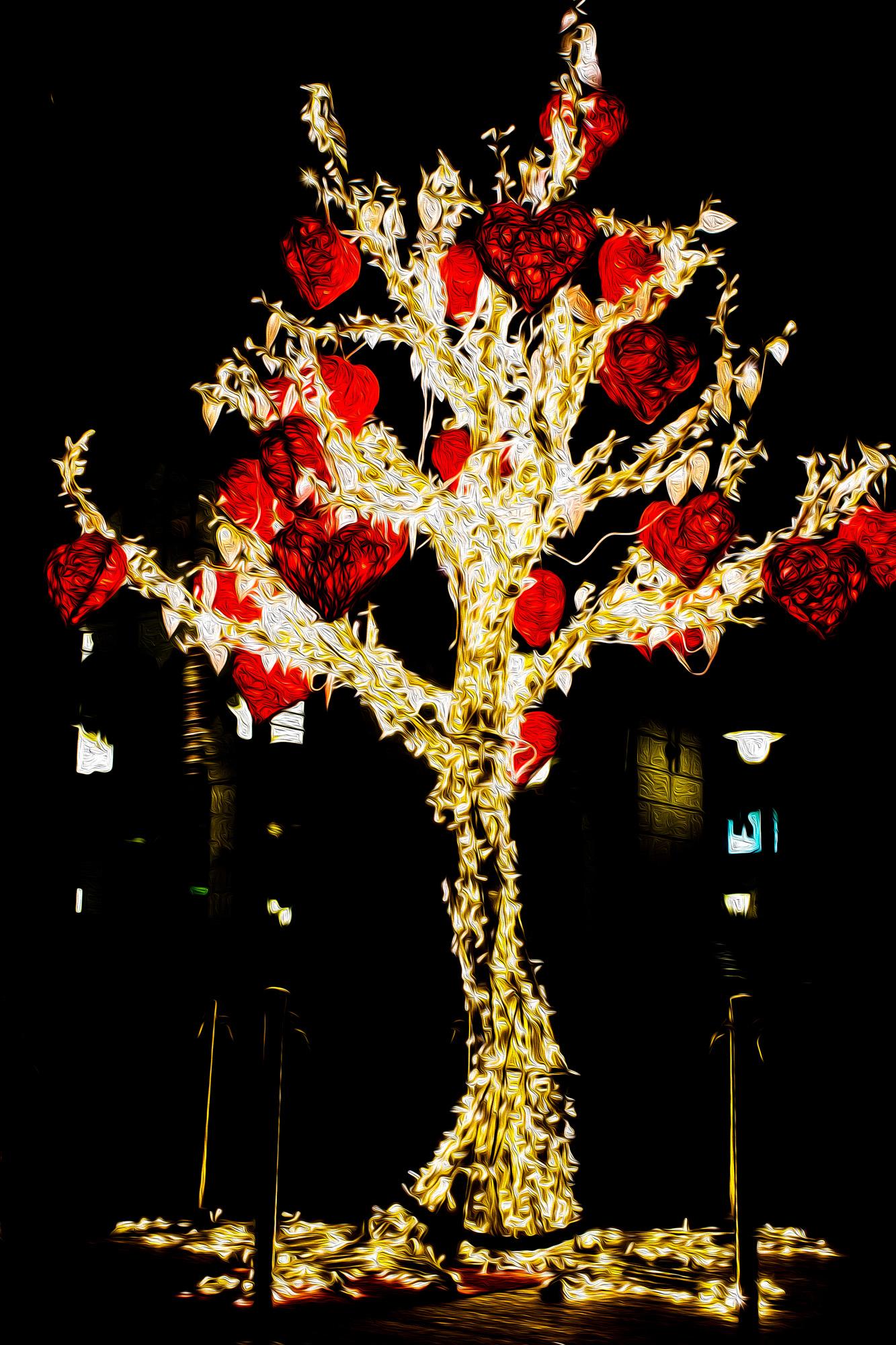 Hjärtträd i Uppsala