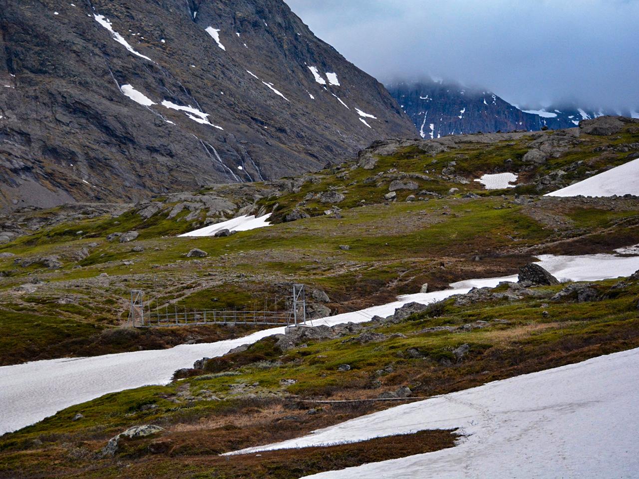 Övergång över Laddjujohka