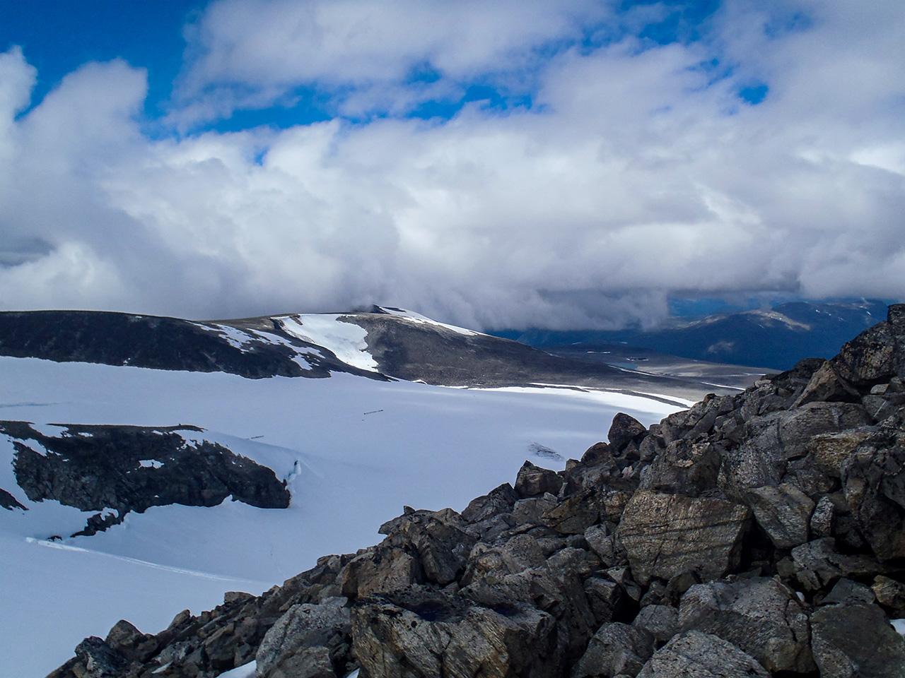 styggebrean-glaciären