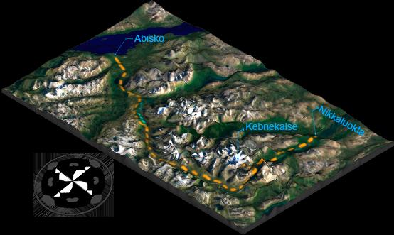 Abisko - Nikkaluokta (Kungsleden)