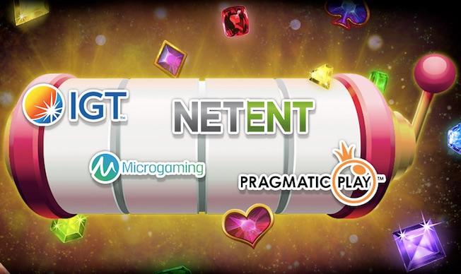 Spilleverandører- Produsenter av casinospill