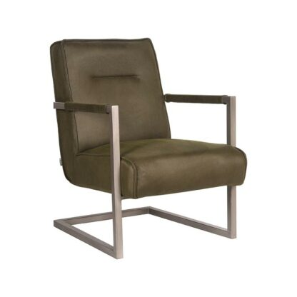 Fauteuil Jim Army Microvezel 62x80x86 cm Perspectief