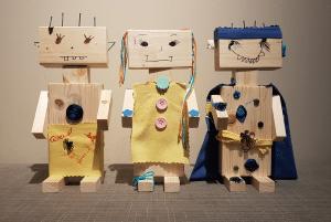 Knappe robots
