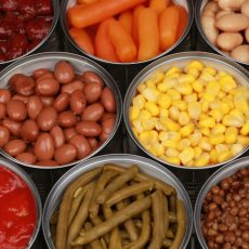 Canned Fruit & Vegetables