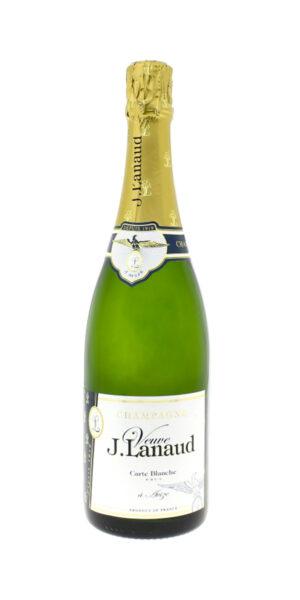 Champagne Carte Blanche Brut Veuve J.Lanaud