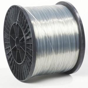 zeer sterk polyesterdraad net een diameter van 2.2 m/m verkrijgbaar op rol van 1800 meter. ook is dit polyesterdraad verkrijgbaar in zwarte uitvoering.