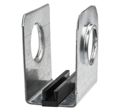 stalenhuis voor het geleiden van aluminium tandbanen
