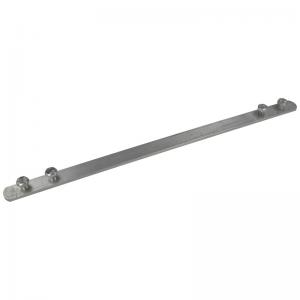 alum koppelstrip 15x4 L=300mm