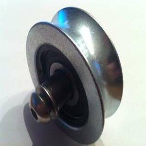 gelagerd takelwiel rond 70 mm