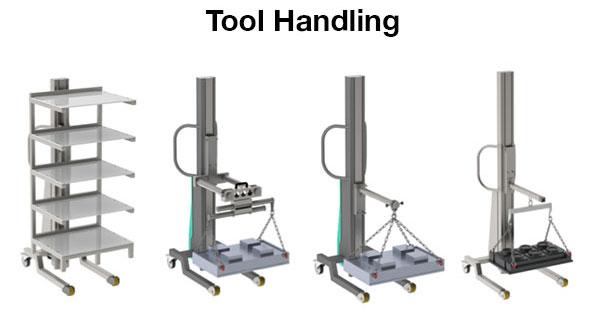 Torros Multi Lift Tool Handling and Tool Lifting