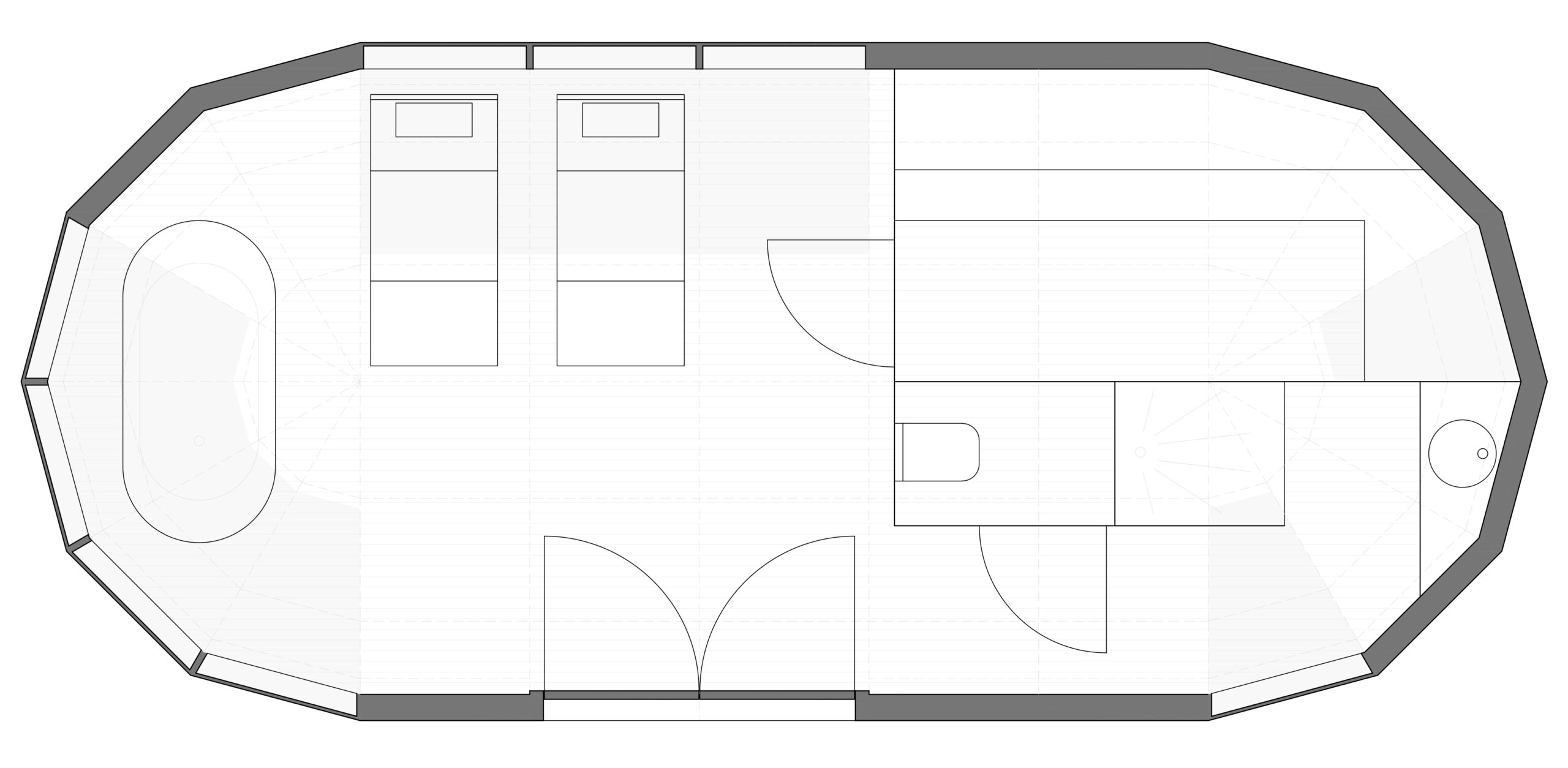tortiga-cabin-grondplan-welness