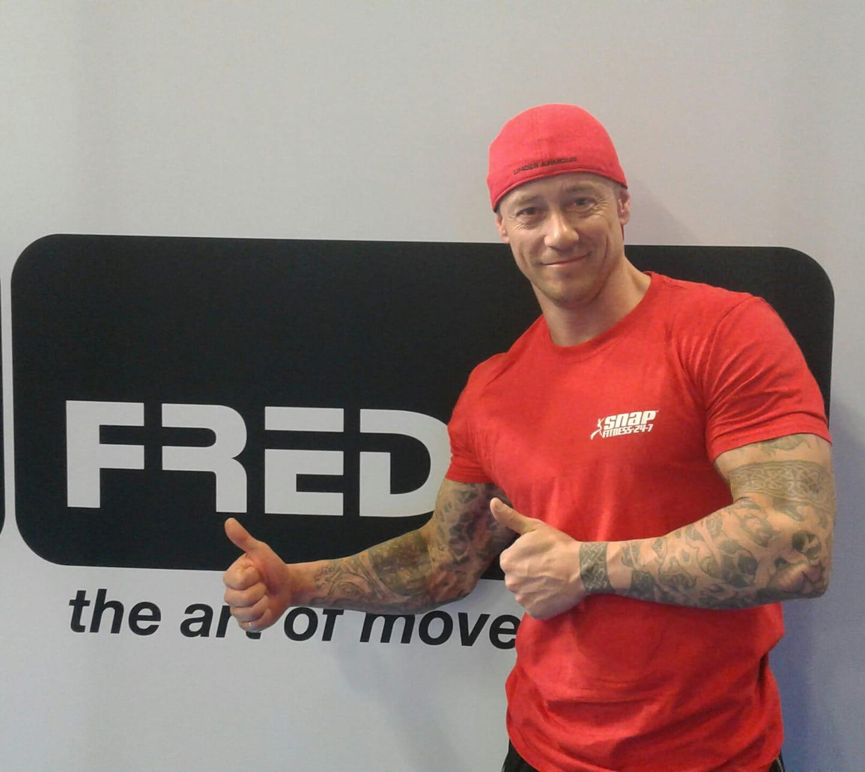Personal trainer Fred Van Opstal