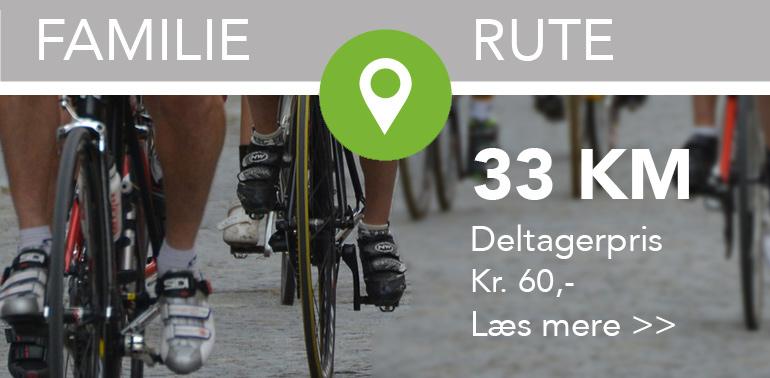 33 km familie rute - Tour Re Tour