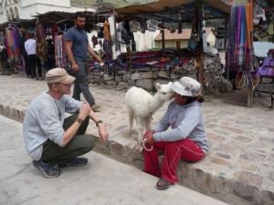 Tourism and local culture in Colca Canyon Peru