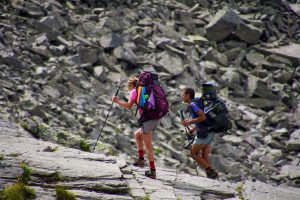 Backpacking travel with less