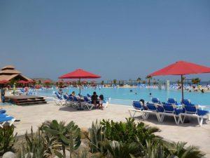 Tourist beach resort